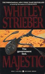Majestic by Whitley Strieber - Paperback USED