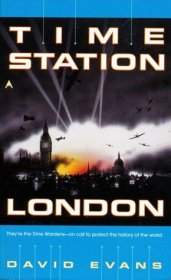 Time Station London by David Evans - Paperback USED