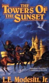 The Towers of Sunset by L.E. Modesitt, Jr. - Paperback USED