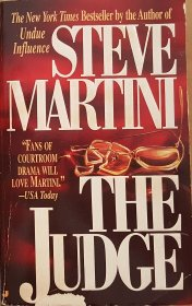The Judge : A Paul Madriani Novel by Steve Martini - USED Mass Market Paperback