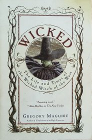 Wicked by Gregory Maguire - Paperback USED Literary Fantasy Fiction