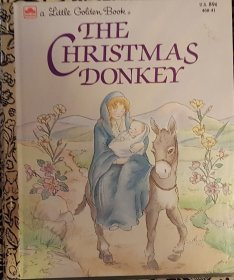 The Christmas Donkey - A Little Golden Book VINTAGE 1984