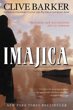 Imajica Updated Edition by Clive Barker - Paperback USED
