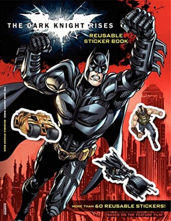 Batman The Dark Knight Rises Sticker Activity Book - Includes 60+ Stickers