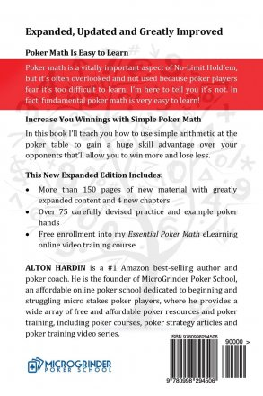 Essential Poker Math, Expanded Edition by Alton Hardin - Paperback