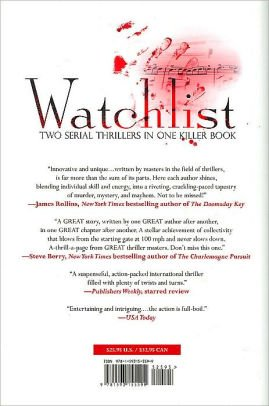 Watchlist : Two Serial Thrillers in One Killer Book by Jeffery Deaver - Hardcover FIRST EDITION