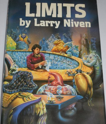 Limits by Larry Niven - Hardcover RARE Science Fiction USED Book Club Edition