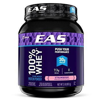 EAS 100% Pure Whey Protein Powder 2 LB - 3 Flavors Available