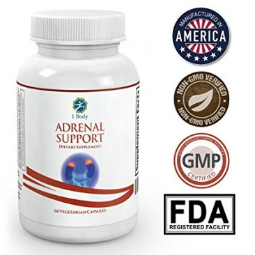 Adrenal Support - Cortisol Manager - A complex formula containing Vitamin B12, B5, B6, Magnesium, Ginger Root Extract, Ashwagandha, Schizandra Berry, Licorice & more