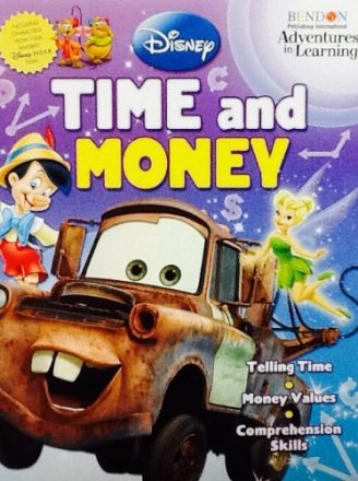 Disney Time and Money Adventures in Learning - Workbook