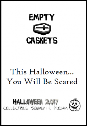Empty Caskets : Halloween 2017 : Collectible Souvenir Program - Paperback